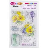 Stampendous SSC2010 Lovely Flower