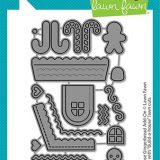 Lawn Fawn – Build-A-House Gingerbread Add-on (die)