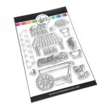 Catherine Pooler – Fresh Cut Flowers (stamp & die set) – out of stock
