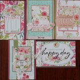 MC&S Card Kit – Carta Bella – Floral No 3 – Kit 1