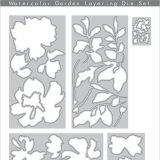 Altenew – Watercolour Garden Layering die set – out of stock