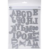PinkFresh – Kelly Alpha Uppercase die set (1619) – out of stock