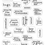 Hero Arts CM351 Hero Greetings Mini Messages 3×4 – out of stock
