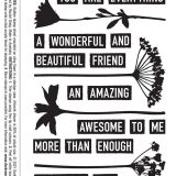 Darkroom Door Rubber Stamp Set – DDRS217 You Are Everything