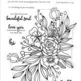 Altenew – Bouquet of Love (stamp & die set) – out of stock