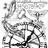 Woodware Stamps – FRS830 Through Time