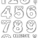 Hero Arts – CM549 Number Candles