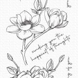 My Favorite Things – Magnolia Blossoms stamp set