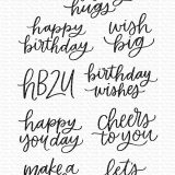 My Favorite Things – Mini Birthday Messages